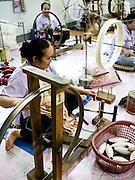 Doi Tung Cottage Industries weaving workshop.