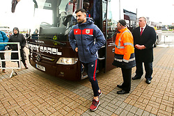Bailey Wright of Bristol City arrives at Pride Park Stadium for the Sky Bet Championship game against Derby County - Mandatory by-line: Robbie Stephenson/JMP - 22/12/2018 - FOOTBALL - Pride Park Stadium - Derby, England - Derby County v Bristol City - Sky Bet Championship