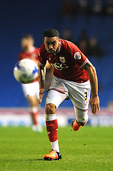 Derrick Williams of Bristol City - Mandatory byline: Dougie Allward/JMP - 07966 386802 - 20/10/2015 - FOOTBALL - American Express Community Stadium - Brighton, England - Brighton v Bristol City - Sky Bet Championship