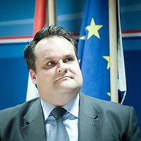 Brussels, Belgium 29 November 2011<br /> Dutch Finance Minister Jan Kees de Jager at the European Council.<br /> Photo: Ezequiel Scagnetti © Ministry of Finance - Netherlands