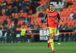 January 26, 2019 - Valencia, Valencia, Spain - Pablo Fornals of Villarreal CF prior the La Liga Santander match between Valencia and Villarreal at Mestalla Stadium on Jenuary 26, 2019 in Valencia, Spain. (Credit Image: © Maria Jose Segovia/NurPhoto via ZUMA Press)