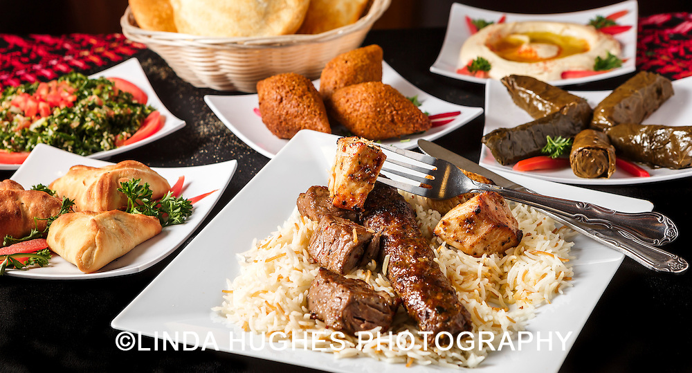 Mediterranean Entree with Appetizers