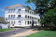 The New Oriental Hotel. Galle Fort. This building has now become Amangalla Hotel.