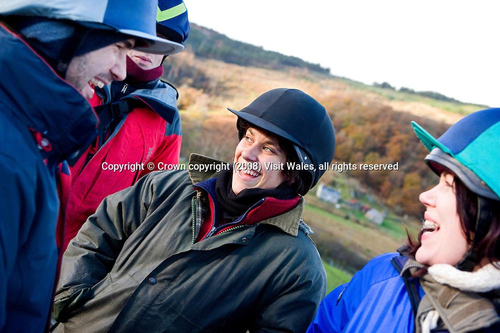 Ty Coch Farm<br /> Near Penmachno<br /> Gwynedd<br /> North<br /> Horseriding<br /> Activities &amp; Sports