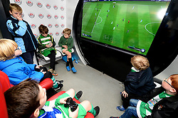Bristol Rovers fans play FIFA 18 in the EA Hub before the game against Doncaster Rovers - Mandatory by-line: Dougie Allward/JMP - 23/12/2017 - FOOTBALL - Memorial Stadium - Bristol, England - Bristol Rovers v Doncaster Rovers - Skt Bet League One