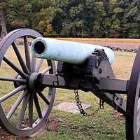 12 pounder Napoleon Cannon on the Gettysburg battlefield