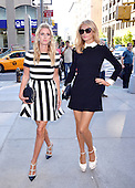 Nicky and Paris Hilton Out And About In NY
