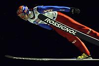 Hopp<br /> Daniel Forfang (Norwegen); Vdig, quer Weltcup 2005/2006, Welt Cup, Worldcup, World, WC, Skisprung, Ski Nordisch, Nordischer Skisport Kuusamo Skispringen