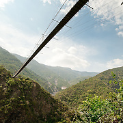 Duaona Suspension Bridge, Maolin Township, Kaohsiung County, Taiwan