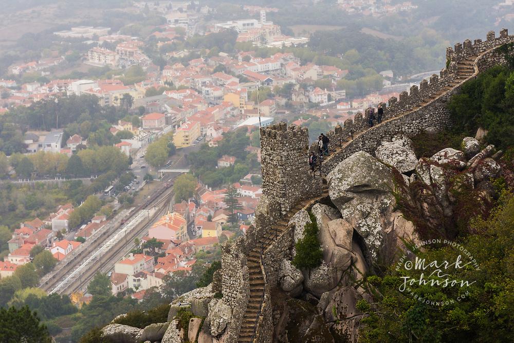 Moorish Castle (Castelo dos Morros), Sintra, Portugal
