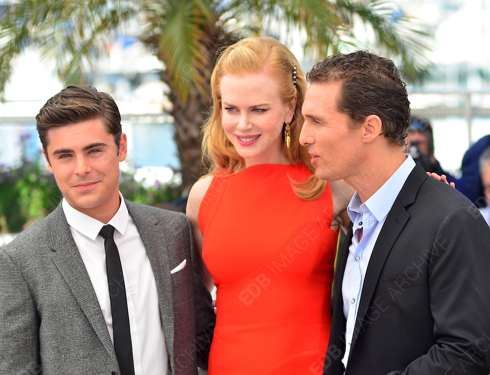 24.MAY.2012. CANNES<br /> <br /> PAPERBOY PHOTOCALL AT THE 65TH CANNES FILM FESTIVAL<br /> <br /> BYLINE: JOE ALVAREZ/EDBIMAGEARCHIVE.CO.UK<br /> <br /> *THIS IMAGE IS STRICTLY FOR UK NEWSPAPERS AND MAGAZINES ONLY*<br /> *FOR WORLD WIDE SALES AND WEB USE PLEASE CONTACT EDBIMAGEARCHIVE - 0208 954 5968*