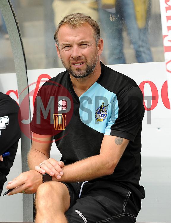 Bristol Rovers assistant manager,Marcus Stewart - Photo mandatory by-line: Neil Brookman/JMP - Mobile: 07966 386802 - 18/07/2015 - SPORT - Football - Bristol - Memorial Stadium - Pre-Season Friendly