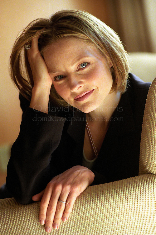 BEVERLY HILLS, CA:   Academy Award winning actress Jodie Foster at the L'Emitage Hotel in Beverly Hills, California. Photograph by David Paul Morris