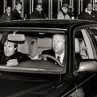Belichick/Kraft in car