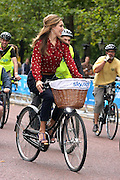 04.SEPTEMBER.2011. LONDON<br /> <br /> KELLY BROOK AT THE SKY RIDE EVENT ORGANIZED BY LONDON'S MAYOR BORIS JOHNSON. KELLY WAS ACCOMPANIED BY CYCLING CHAMPION SIR CHRIS HOY AS 55,000 LONDONERS TOOK PART CYCLING AROUND LONDON'S MOST FAMOUS LANDMARKS BIG BEN, HOUSES OF PARLIAMENT, LONDON EYE, THE MALL, BUCKINGHAM PALACE, TOWER OF LONDON AND LONDON BRIDGE.<br /> <br /> BYLINE: EDBIMAGEARCHIVE.COM<br /> <br /> *THIS IMAGE IS STRICTLY FOR UK NEWSPAPERS AND MAGAZINES ONLY*<br /> *FOR WORLD WIDE SALES AND WEB USE PLEASE CONTACT EDBIMAGEARCHIVE - 0208 954 5968*