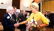 King Willem-Alexander and Queen Maxima attend  the D-Day commemoration to mark the allied invasion 70 years ago in Arromanches, France, 6 June 2014 . COPYRIGHT ROBIN UTRECHT