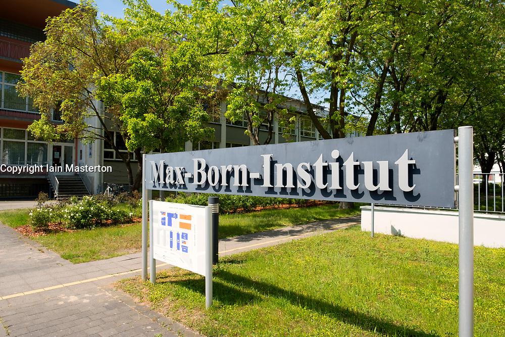 Max Born Institute  at Adlershof Science and Technology Park  Park in Berlin, Germany