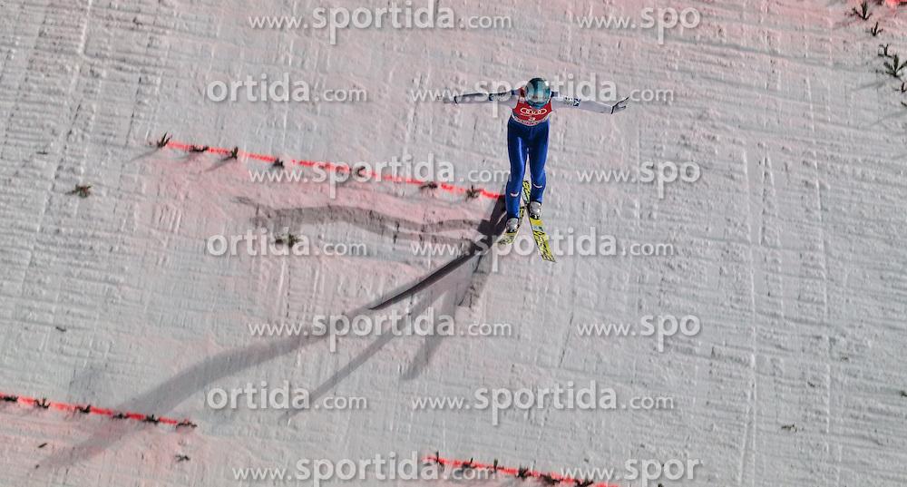 06.01.2016, Paul Ausserleitner Schanze, Bischofshofen, AUT, FIS Weltcup Ski Sprung, Vierschanzentournee, Bischofshofen, Finale, im Bild Michael Hayboeck (AUT) // Michael Hayboeck of Austria during his 1st round jump of the Four Hills Tournament of FIS Ski Jumping World Cup at the Paul Ausserleitner Schanze in Bischofshofen, Austria on 2016/01/06. EXPA Pictures © 2016, PhotoCredit: EXPA/ JFK