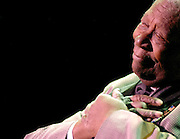 Blues artist B.B. King performs at the Grand Sierra Resort and Casino in Reno, Nev., on Friday, Oct. 26, 2007.