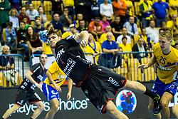 Golla Johannes of SG Flensburg-Handewitt during handball match between RK Celje Pivovarna Lasko (SLO) and SG Flensburg Handewitt (GER) in 3rd Round of EHF Men's Champions League 2018/19, on September 30, 2018 in Arena Zlatorog, Celje, Slovenia. Photo by Grega Valancic / Sportida