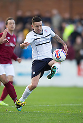 Raith Rovers Ryan Conroy.<br /> Linlithgow Rose 0 v 2 Raith Rovers, William Hill Scottish Cup Third Round game player today at Prestonfield.