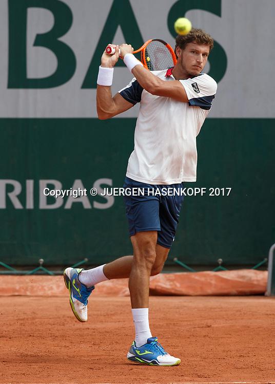 PABLO CARRENO BUSTA (ESP)<br /> <br /> Tennis - French Open 2017 - Grand Slam / ATP / WTA / ITF -  Roland Garros - Paris -  - France  - 2 June 2017.