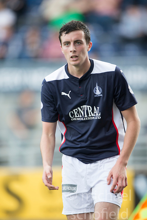 Falkirk's Joe Shaughnessy.<br /> Falkirk 1 v 1 Queen of the South, Scottish Championship game played today at The Falkirk Stadium.