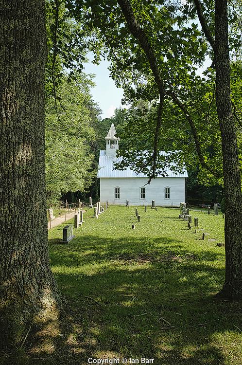 Primitive Baptist Church,Cades Cove, Tennessee.