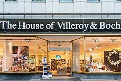 House of Villeroy & Boch store on famous Kurfurstendamm shopping street in Berlin, Germany.