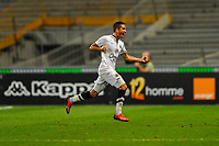 SOCCER : Toulouse vs Caen - Day 6 French L1 - 09/20/2014<br /> Goal et joie coup franc Jean Calve (smc)<br /> Norway only