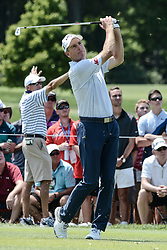 August 10, 2018 - Town And Country, Missouri, U.S - JIM FURYK from Jacksonville Florida, USA tees off on hole number three during round two of the 100th PGA Championship on Friday, August 10, 2018, held at Bellerive Country Club in Town and Country, MO (Photo credit Richard Ulreich / ZUMA Press) (Credit Image: © Richard Ulreich via ZUMA Wire)