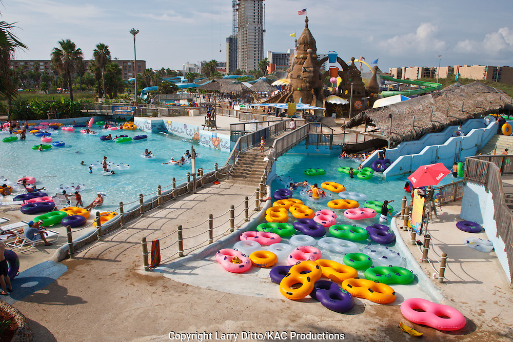 Schlitterbahn Water Park, South Padre Island, Texas, USA,