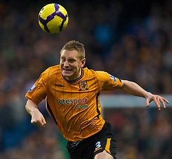 MANCHESTER, ENGLAND - Saturday, November 28, 2009: Hull City's Andy Dawson in action against Manchester City during the Premiership match at the City of Manchester Stadium. (Photo by David Rawcliffe/Propaganda)