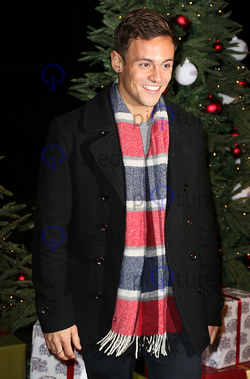Tom Daley, Winter Wonderland - VIP Launch, Hyde Park, London UK, 19 November 2015, Photo by Brett D. Cove