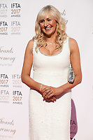 at the 2017 IFTA Film & Drama Awards at the Round Room of the Mansion House, Dublin,  Ireland Saturday 8th April 2017.