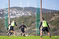 ESTEPONA - 06-01-2016, AZ in Spanje 6 januari, AZ speler Alireza Jahanbakhsh