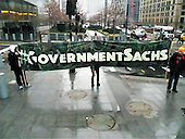 #GovernmentSachs Shut Down Goldman Sachs Protest NYC. January 17th 2017
