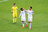 Alexandre LACAZETTE /  Clement GRENIER - 02.05.2015 - Lyon / Evian Thonon - 35eme journee de Ligue 1<br />