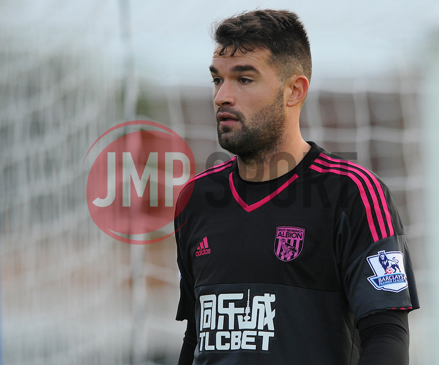 Boaz Myhill of West Brom - Mandatory byline: Dougie Allward/JMP - 07966386802 - 31/07/2015 - FOOTBALL - Memorial Stadium -Bristol,England - Bristol Rovers v West Brom - Phil Kite Testimonial Match