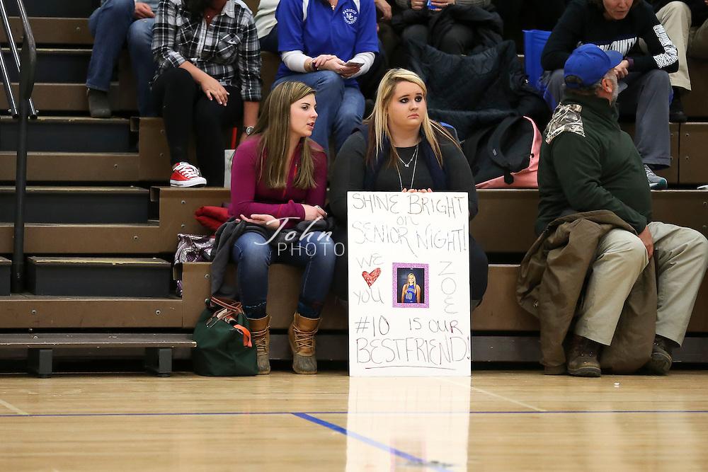 February 09, 2016.  <br /> MCHS Varsity Girls Basketball vs George Mason.