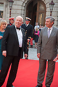 JULIAN FELLOWES; STEPHEN WALEY-COHEN, Celebration of the Arts. Royal Academy. Piccadilly. London. 23 May 2012.