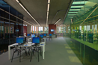 Washington Highlands Library photography interior image