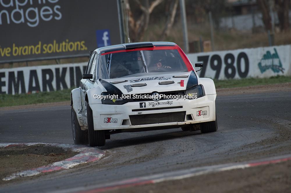 Troy Dowel - Vw polo - Rallycross Australia - Winton Raceway - 16th July 2017