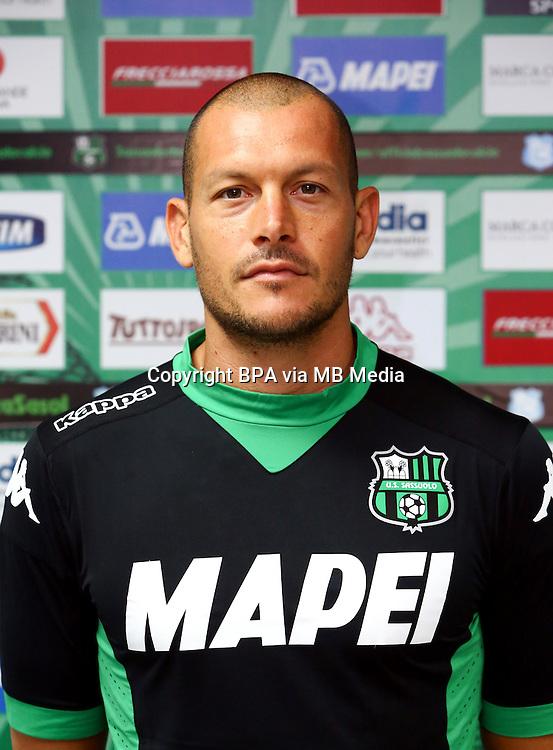 Italian League Serie A -2015-2016 / <br /> ( US Sassuolo Calcio ) - <br /> Alberto Pomini