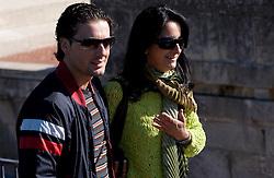 Tourists  in San Marino, on October 13, 2009, in San Marino,  San Marino.  (Photo by Vid Ponikvar / Sportida)