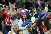 Fans of Croatia during the EHF 2018 Men's European Championship, 2nd Round, Handball match between Croatia and Belarus on January 18, 2018 at the Arena in Zagreb, Croatia - Photo Laurent Lairys / ProSportsImages / DPPI