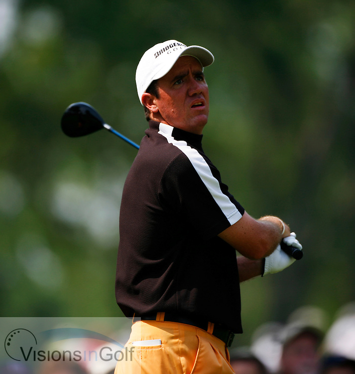 Scott Hend on the third day <br /> 060617 / Winged Foot GC, NY,  USA /  USGA Open Championship 2006<br /> Picture Credit: Mark Newcombe / visionsingolf.com