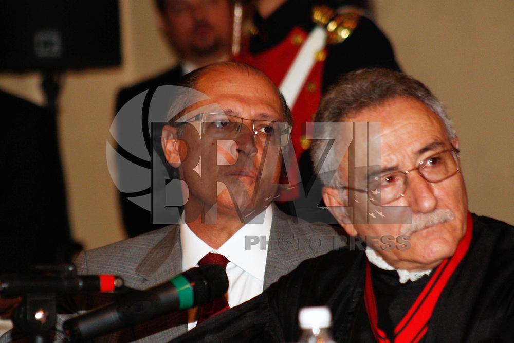 SÃO PAULO, SP, 25 MARÇO DE 2011 - ABERTURA ANO JUDICIÁRIO DE 2011 - O governador Geraldo Alckmin durante sessão Solene de Abertura do Ano Judiciário de 2011, no Palácio da Justiça na região central da capital paulista na tarde desta sexta-feira (25). (FOTO: AMAURI NEHN / NEWS FREE).
