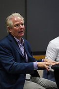 Mike Nichols speaks during the Cap Times Idea Fest 2018 at the Pyle Center in Madison, Wisconsin, Saturday, Sept. 29, 2018.