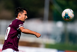 Victor Aliaga Verdu of NK Triglav during football match between NK Triglav and NK Domzale in 9th Round of Prva liga Telekom Slovenije 2019/20, on September 15, 2019 in Sport park Kranj, Kranj, Slovenia. Photo by Grega Valancic / Sportida